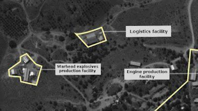 Israel divulga fotos de satélites de fábrica de mísseis avançados do Hezbollah