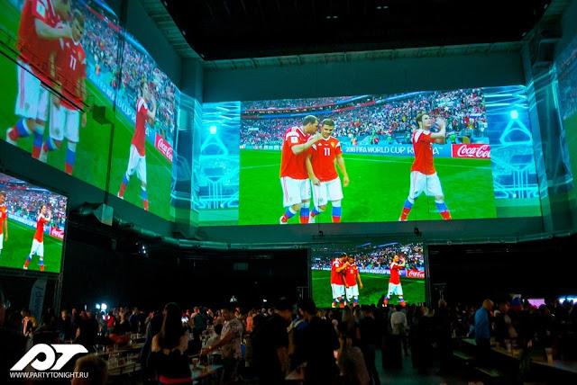 Финалы ЛЧ и ЛЕ будут показаны в Москве на самом большом экране в мире