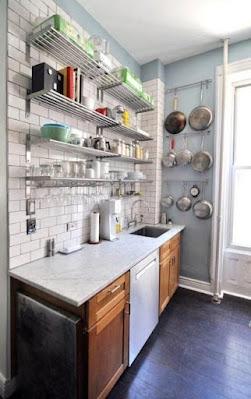 5 Cara Menata Dapur Sempit Sederhana Agar Terkesan Luas