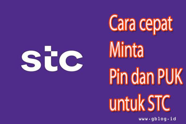 Cara Meminta Pin PUk STC Sawa