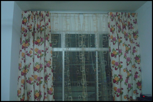 Ni Lak Day Curtain Kena Ada Sebab Rumah Aku Facing Orang Yang Kelakarnya Hubby Ingat Pasang Kat Belah