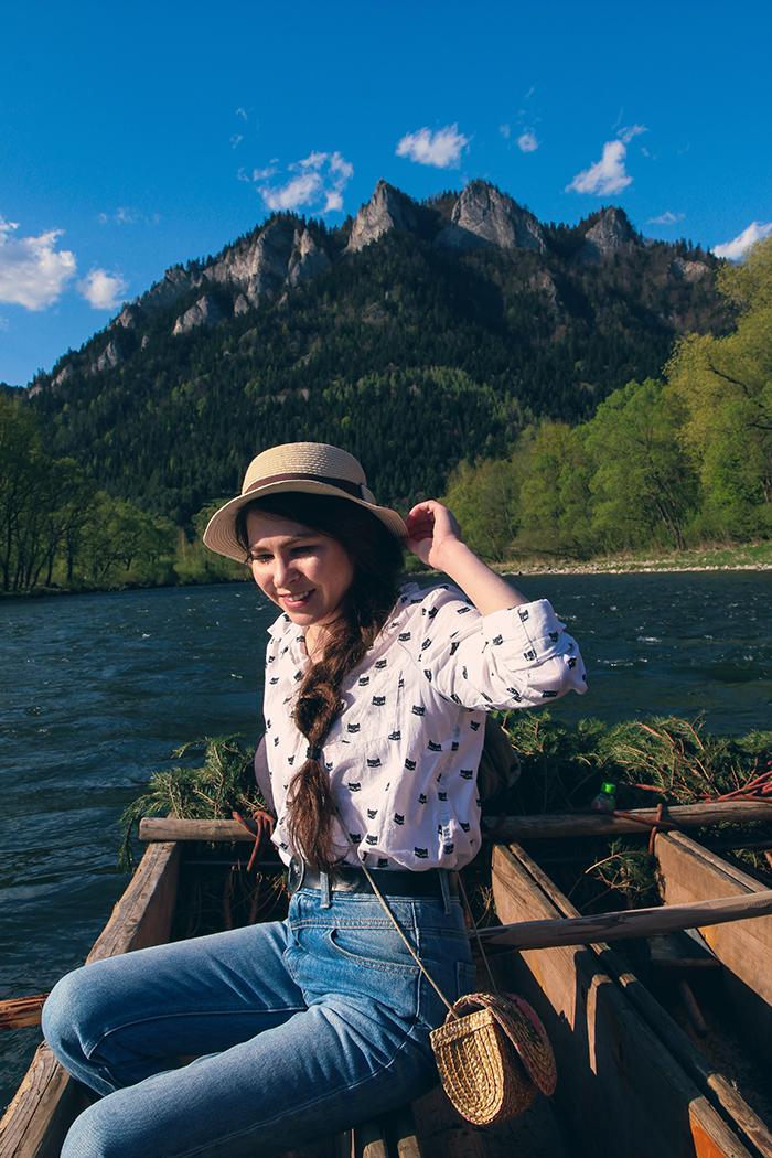 trzy korony, spływ dunajcem, dunajec, rzeka, pieniny, pieniński park krajobrazowy