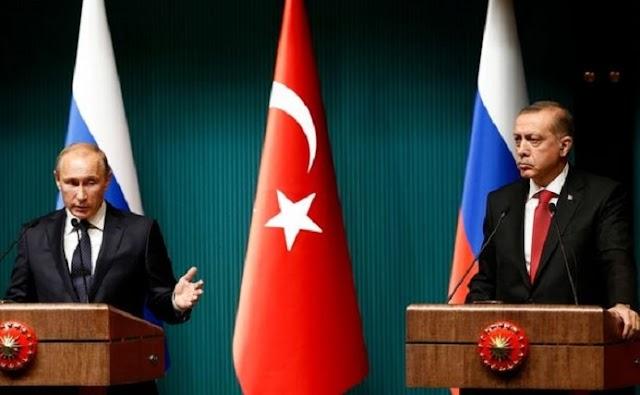 Συνάντηση Ερντογάν - Πούτιν προανήγγειλε ο Τούρκος ΥΠΕΞ