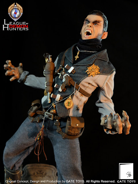"""osw.zone GATE TOYS 1 / 6th """"League of Demon Hunters"""" Part I: Paul the Holy Disciple Figurine with Diorama"""
