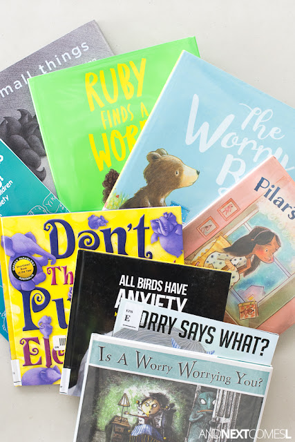 Anxiety picture books about worrying for anxious kids