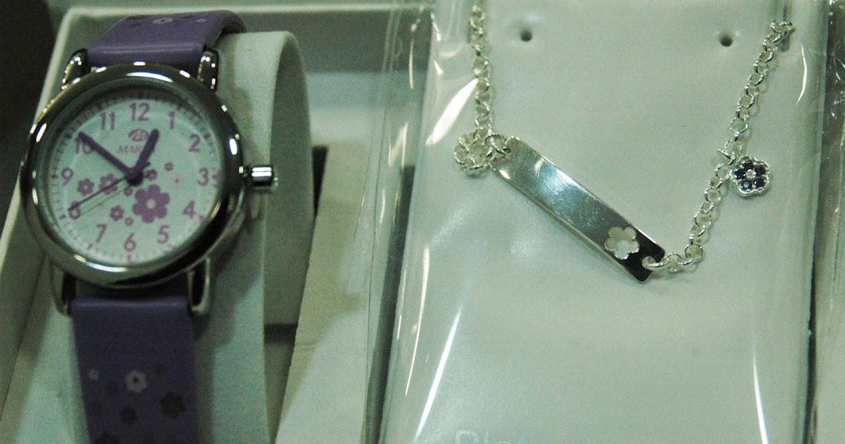 499c1bfb99d4 Un blog sobre Ampuero y otros lugares cercanos  Reloj Comunión + pulsera de  plata