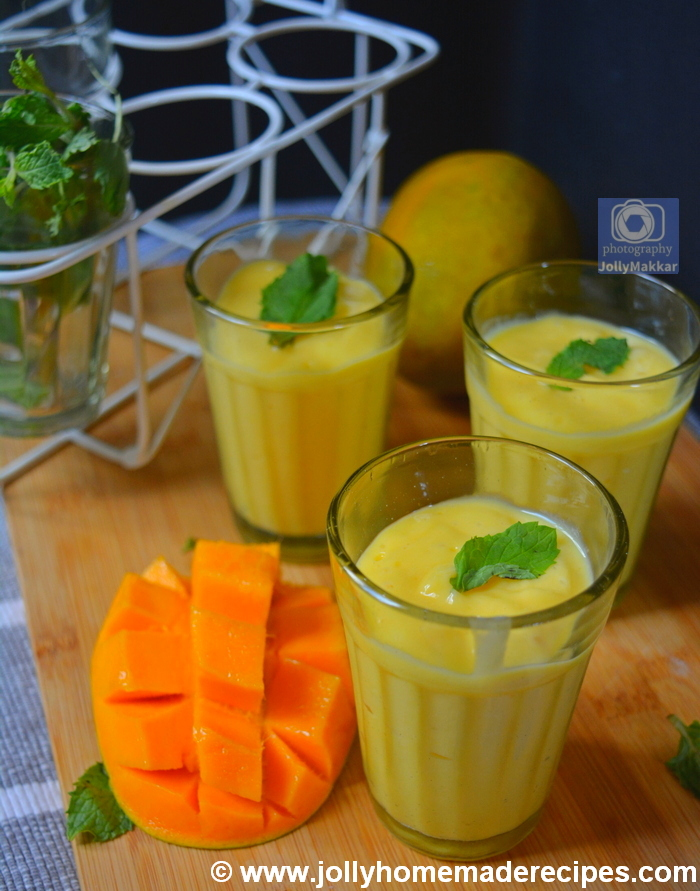 How to make Mango Lassi with Rose Water