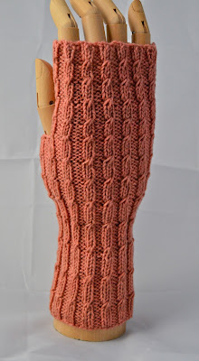 Mock cabled fingerless gloves or mittens.  https://www.etsy.com/shop/jeanniegrayknits