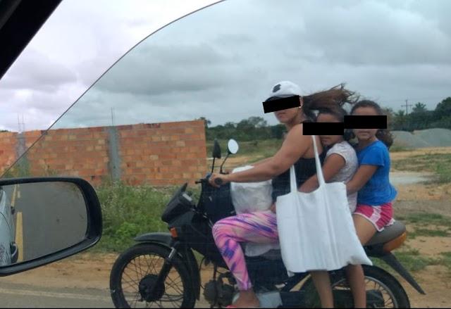 Reportagem do Jornal Diário do Litoral flagra imprudência e negligência em estrada que liga Olindina a Itapicuru