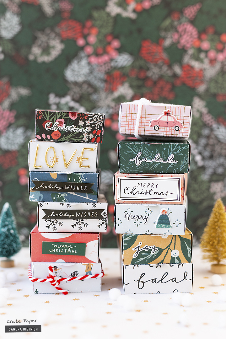 CRATE PAPER | Merry Days | Gift Wrapping | Gift Boxes | D