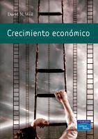 Crecimiento económico de David Well