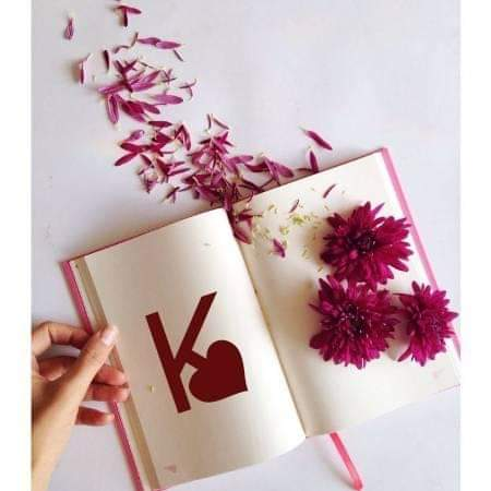 A to Z Beautiful Alphabets with heart Inside Fb Dp Pics