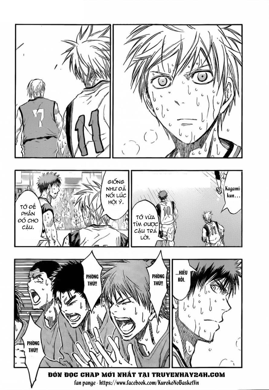 Kuroko No Basket chapter 200 trang 16