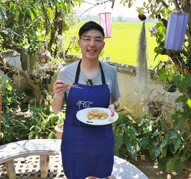 Thai Secret Cooking Class Photos. March 9-2017. Pa Phai, San Sai District, Chiang Mai, Thailand.