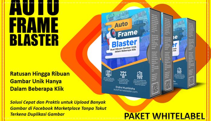 Auto Frame Blaster Paket WHITELABEL