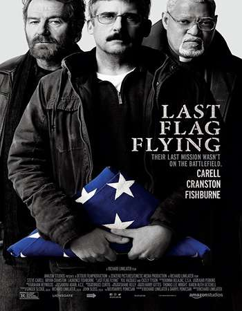Last Flag Flying 2017 English 720p Web-DL 950MB