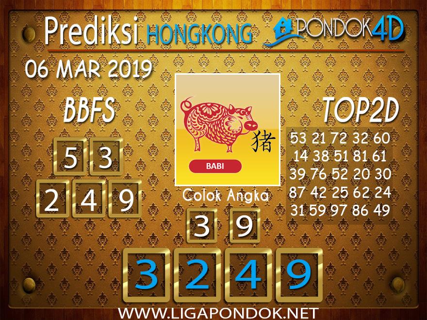 Prediksi Togel HONGKONG PONDOK4D 06 MARET 2019