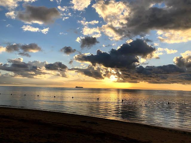 Sunrise at Tanjung Benoa - Conrad Bali