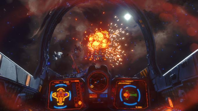 Rebel Galaxy Outlaw is a space action game in which players are waiting for the story of a girl named Juno Markev, who was on the edge of the galaxy.