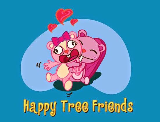 Happy Tree Friends in Illustrator