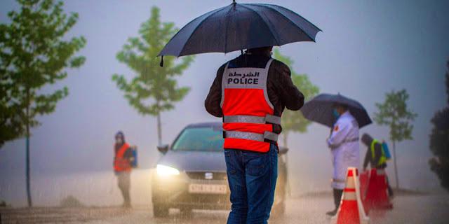 أمطار رعدية في طريقها إلى هذه المدن المغربية