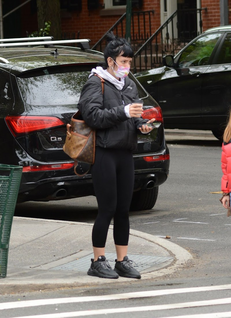 Lily Allen Clicked outside in New York 8 May-2021