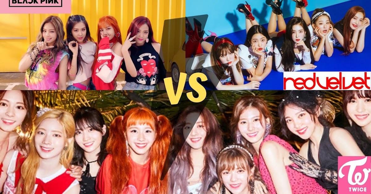 Boy N Girl In Love Wallpaper Poll Blackpink Vs Red Velvet Vs Twice Which Is The Best