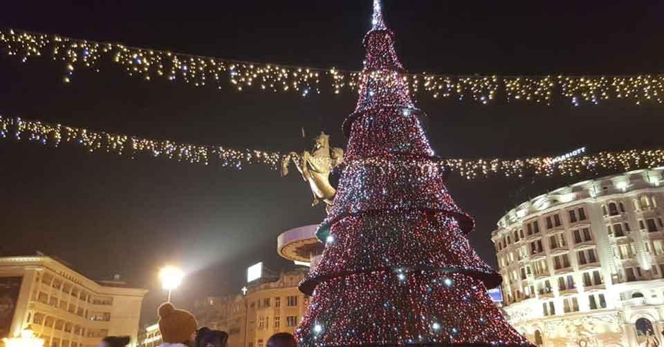 Frohe Weihnachten Mazedonisch.Mazedonier Bereiten Sich Auf Das Orthodoxe Weihnachtsfest Vor