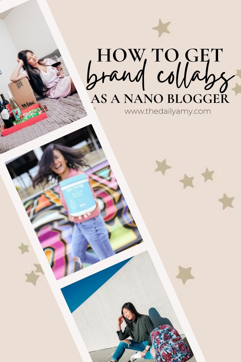 how to land brand collaborations as a nano blogger