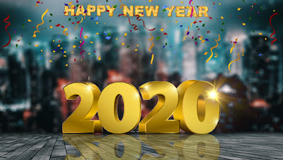 New Year 2020 HD Background