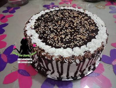 Brownies Kukus Siram Coklat Spesial Resep