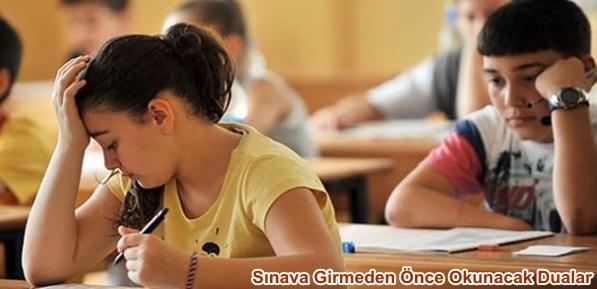 Sınava Girmeden Önce Okunacak Dualar-Nihat HATİPOĞLU