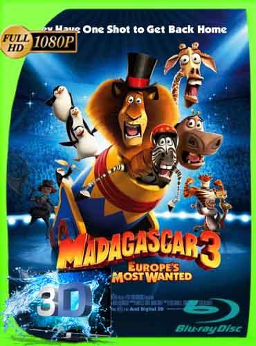 Madagascar 3 (2012) Latino Full 3D SBS 1080P [GoogleDrive] dizonHD