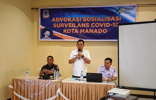 "Dr. Ivan buka Kegiatan ""Advokasi Sosialisasi Surveilans Covid-19""(Corona)"