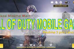 Spesifikasi Hp Android Untuk Game Call Of Duty Mobile, Realme 3 Pro Lancar Jaya