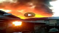 Kebakaran Hebat Di Perbatasan Sibolga-Tapteng