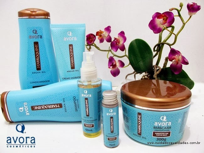 Kit Avora Marroquine Argan Oil