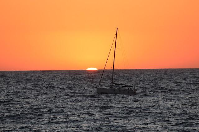 tramonto  a Forio