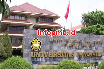 Informasi Pendaftaran Mahasiswa Baru (UNIVPANCASILA) 2021-2022