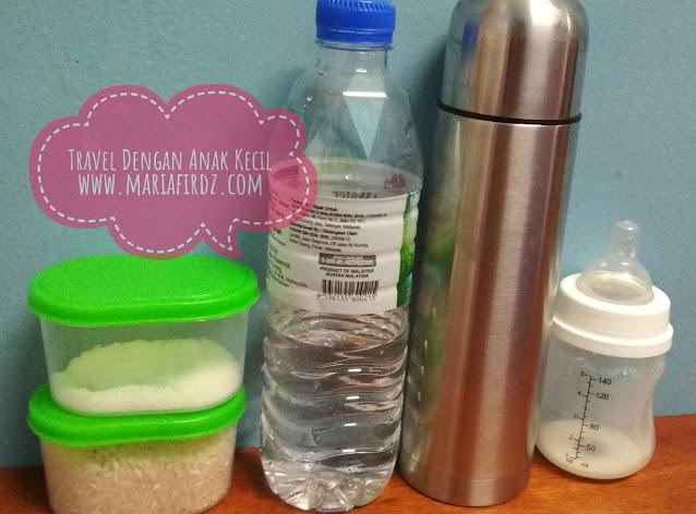 Dengan 2 Cara Ini, Tak Susah Lagi Nak Travel Walaupun Anak Minum Susu Botol