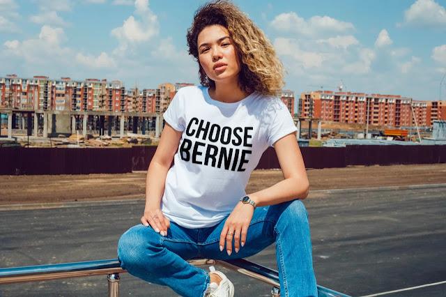 Choose Bernie for president T-shirt