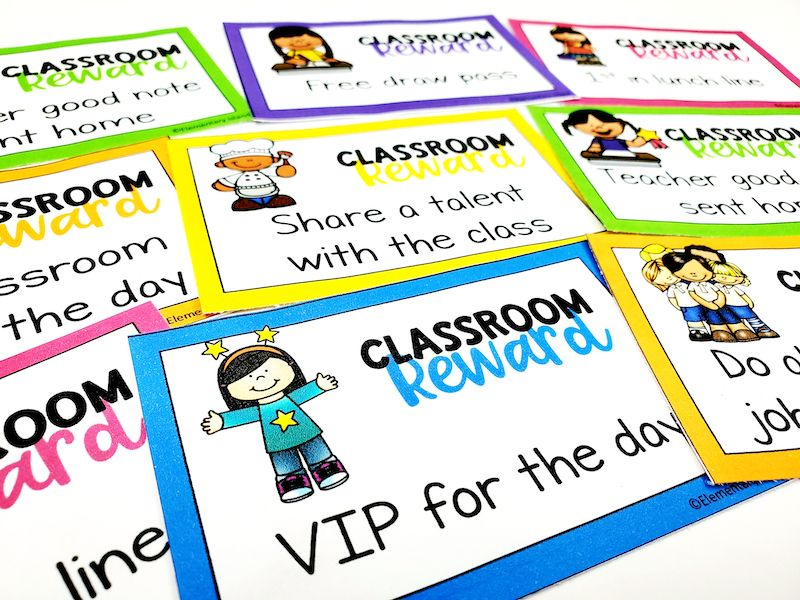 Various classroom reward coupons that you can use for distance learning for classroom management.