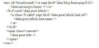 Code load nhãn label của blogspot