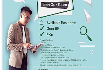 Lowongan Kerja Admin Guru NFBS Lembang