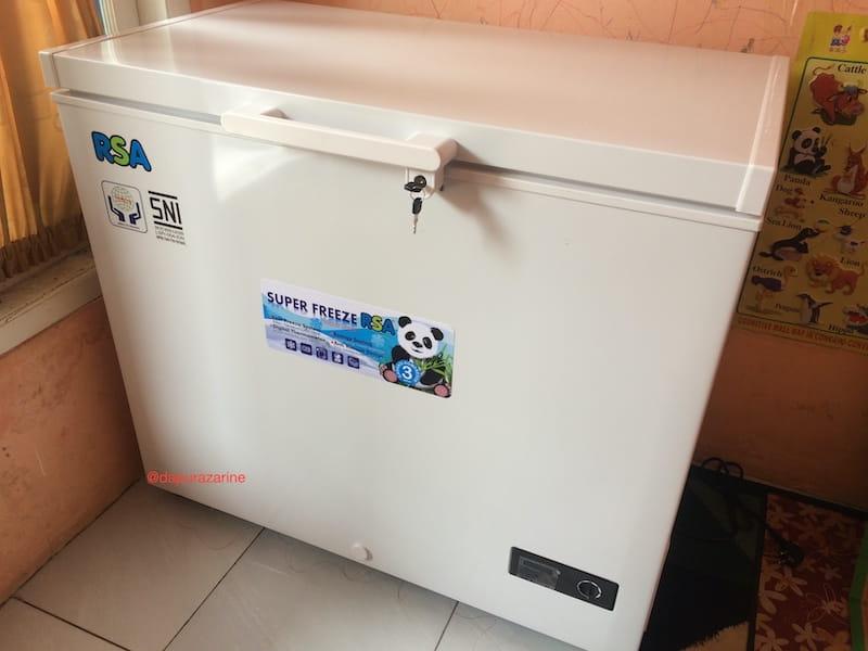 chest freezer untuk bisnis frozen food