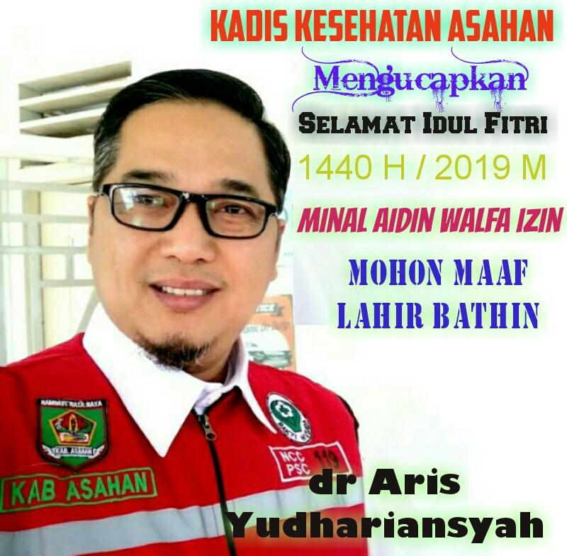 Kadinkes Asahan dr Aris Yudhariansyah.