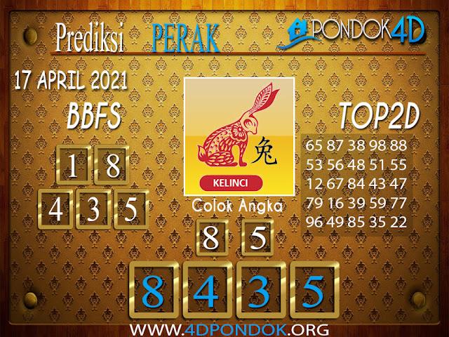Prediksi Togel PERAK PONDOK4D 17 APRIL 2021