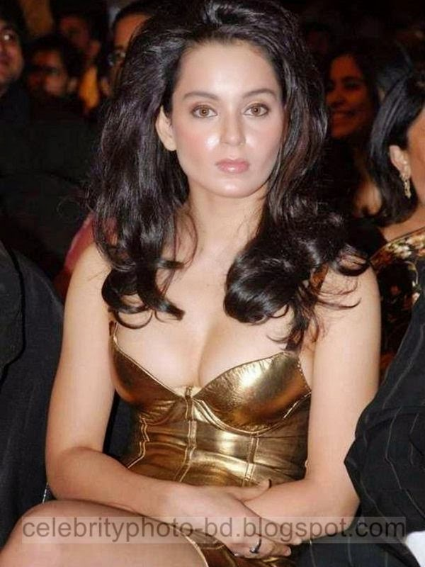 Ever-Green Sexiest Bollywood Actress Kangana Ranaut's Hot Photos Collection In Short Tight Skirt