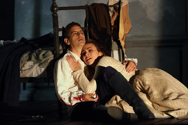 Massenet: Werther - Juan Diego Florez and Isabel Leonard - Royal Opera (Photo: Catherine Ashmore, (C) ROH 2019)