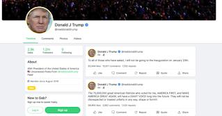 Trump đệ đơn kiện ra tòa, thúc giục Twitter khôi phục tài khoản